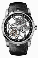 Roger Dubuis Excalibur 42 Skeleton Flying Tourbillon Mens Wristwatch RDDBEX0393