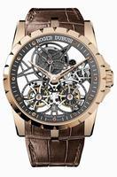 Roger Dubuis Excalibur Skeleton Double Flying Tourbillon Mens Wristwatch RDDBEX0395