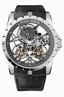 Roger Dubuis Excalibur Skeleton Double Flying Tourbillon Mens Wristwatch RDDBEX0396