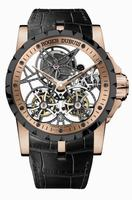 Roger Dubuis Excalibur Skeleton Double Flying Tourbillon Mens Wristwatch RDDBEX0397