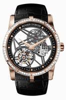 Roger Dubuis Excalibur 42 Skeleton Flying Tourbillon Mens Wristwatch RDDBEX0404