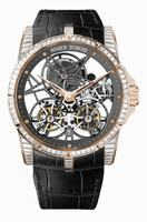 Roger Dubuis Excalibur Skeleton Double Flying Tourbillon Mens Wristwatch RDDBEX0406