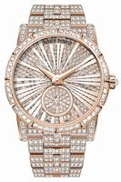 Roger Dubuis Excalibur 36 Automatic High Jewellery Rose Gold Ladies Wristwatch RDDBEX0416