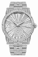 Roger Dubuis Excalibur 36 Automatic High Jewellery White Gold Ladies Wristwatch RDDBEX0417