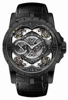 Roger Dubuis Excalibur Quatuor Titanium DLC Mens Wristwatch RDDBEX0425