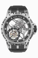 Roger Dubuis Excalibur Spider Skeleton Flying Tourbillon Men Wristwatch RDDBEX0479