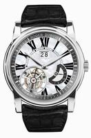 Roger Dubuis Hommage Flying Tourbillon Large Date Mens Wristwatch RDDBHO0578