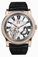 Roger Dubuis Hommage Flying Tourbillon Large Date Mens Wristwatch RDDBHO0579