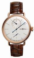 Bell & Ross WW1 Regulateur Rose Gold Mens Wristwatch
