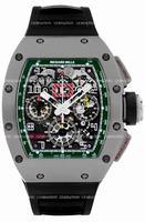Richard Mille RM 011 Felipe Massa Flyback Chronograph LE MANS Mens Wristwatch RM011-FM-TI-LEMANS
