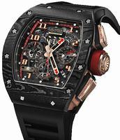 Richard Mille RM 011 Romain Grosjean's Mens Wristwatch RM011-NTPT-Lotus-F1-Team