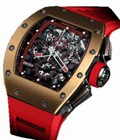 Richard Mille RM 011 Red Demon Mens Wristwatch RM011-Red-Demon