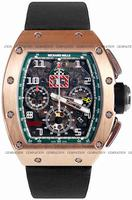 Richard Mille RM 011 Felipe Massa Flyback Chronograph Mens Wristwatch RM011-RG