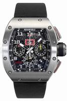 Richard Mille RM 011 Felipe Massa Flyback Chronograph Mens Wristwatch RM011-Ti