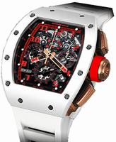 Richard Mille RM 011 White Demon Mens Wristwatch RM011-White-Demon