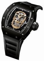 Richard Mille RM 52 Tourbillon Skull Nano-Ceramic  Mens Wristwatch RM52-01