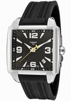 Tissot T-Trend Quadrato Mens Wristwatch T0055101705700