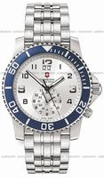 Swiss Army Maverick II Dual Time Mens Wristwatch V251183
